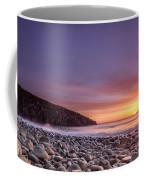 Cullernose Point At Sunrise Coffee Mug