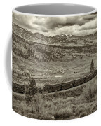 Cumbres Toltec Railroad Nm Sepia Dsc04065 Coffee Mug