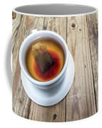 Cup Of Hot Tea On Wood Table Coffee Mug