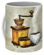 Cup Of The Hot Black Coffee Coffee Mug