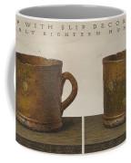 Cup With Slip Decoration Coffee Mug