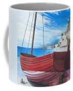 Cupecoy Beach Coffee Mug