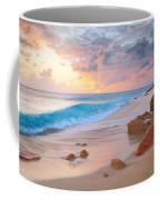 Cupecoy Beach Sunset Saint Maarten Coffee Mug