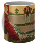 Cupid And Campaspe Coffee Mug