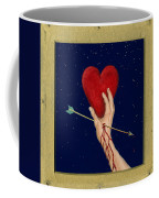 Cupids Arrow Coffee Mug by Charles Harden