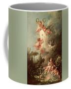 Cupids Target Coffee Mug by Francois Boucher