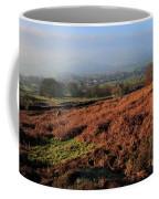 Curbar Edge Curbar Valley Derbyshire Coffee Mug
