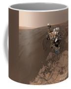 Curiosity Rover Self-portrait Coffee Mug