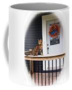 Curious Bengal Cat Coffee Mug