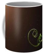 Curl - A Pea Pod Shoot Coffee Mug