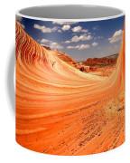 Curling Sandstone Waves Coffee Mug