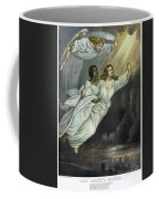 Currier And Ives: Ghost Coffee Mug