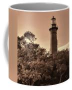 Currituck Beach Lighthouse - Sepia Coffee Mug