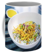 Curry Sauce Vegetable Salad With Noodles And Sesame Coffee Mug