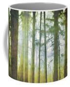 Curtain Of Morning Light Coffee Mug