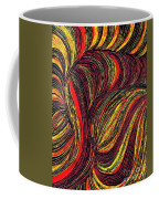 Curved Lines 3 Coffee Mug by Sarah Loft
