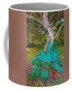 Curves And Fronds Coffee Mug