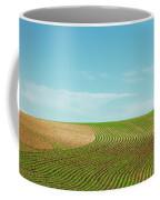 Curvy Rows Coffee Mug