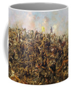 Custer's Last Stand From The Battle Of Little Bighorn Coffee Mug