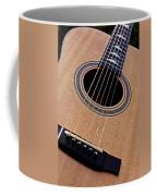 Custom Made Guitar Coffee Mug