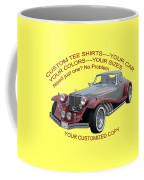 Custom Tee Shirts Coffee Mug