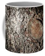 Cut Branch On Tree Trunk Coffee Mug