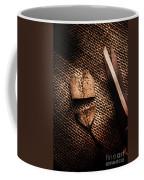Cut Heart Leaf, Fall Of Love Coffee Mug