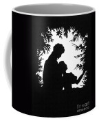 Cut-paper Silhouette Coffee Mug