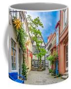 Cute And Colorful European Houses Coffee Mug
