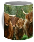 Cute Fluffy Cows Coffee Mug