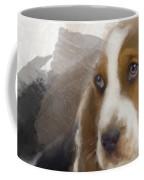 Cute Little Basset Artesien Normand Puppy Coffee Mug