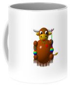 Cute Yak With Yo Yos Coffee Mug