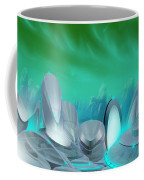 Cyan City Coffee Mug