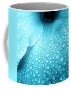 Aqua Droplets Coffee Mug