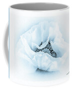 Cyanotype Poppy Coffee Mug