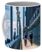Cycling The Bridge Coffee Mug