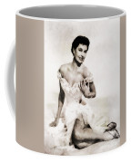 Cyd Charisse, Hollywood Legend By John Springfield Coffee Mug