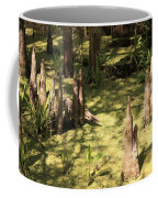 Cypress Knees In Green Swamp Coffee Mug