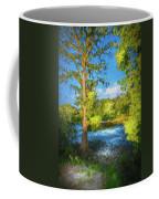 Cypress Tree By The River Coffee Mug