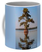 Cypress Tree On Reelfoot Lake Coffee Mug