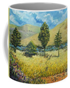 Cypresses At Lydenburg Coffee Mug