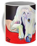 Cyrus Coffee Mug by Pat Saunders-White