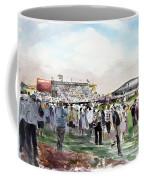 D P World Tour Championship Sketch Coffee Mug