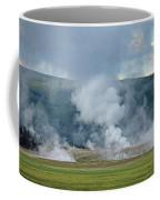 D09125 Steam Vents Near Midway Geyser Basin Coffee Mug