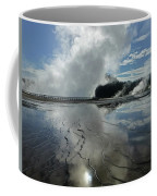 D09130-dc Cloud And Steam Reflect Coffee Mug