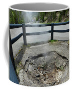 D09149 Sulphur Vent Broke Through Pavement Coffee Mug