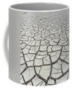 D17845-dried Mud Patterns  Coffee Mug