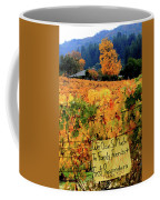 D8b6314 Autumn At Jack London Vinyard With Thanks To Firefighters Ca Coffee Mug