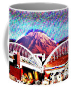 Da Mountain And Stadia 2 Coffee Mug