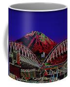 Da Mountain And Stadia 3 Coffee Mug